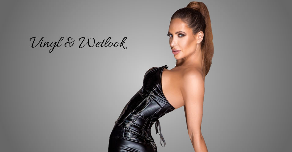 Noir Corsage af Wetlook & Lak