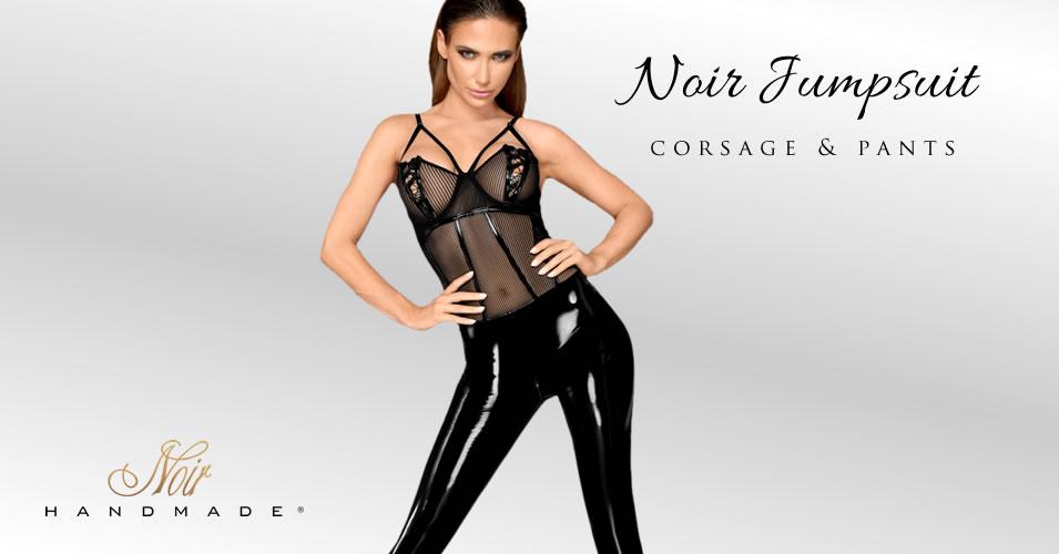 Noir Jumpsuit Corsage & Bukser